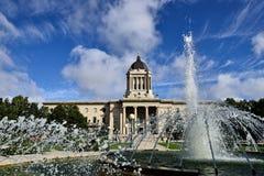 De Wetgevende Bouw van Manitoba Stock Afbeelding