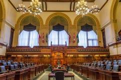De Wetgevende Bouw van Toronto in Toronto, Ontario, Canada Stock Afbeelding