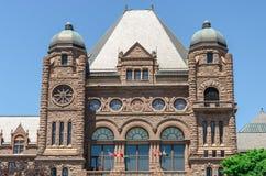 De Wetgevende Bouw van Toronto in Toronto, Ontario, Canada Royalty-vrije Stock Afbeeldingen