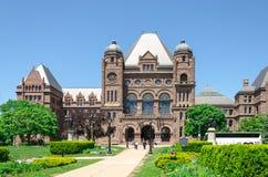 De Wetgevende Bouw van Toronto in Toronto, Ontario, Canada Stock Fotografie