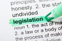De wetgeving Stock Afbeeldingen