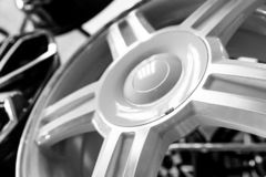 De wielen legeren wielen voor auto's royalty-vrije stock foto