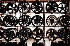 De wielen legeren wielen voor auto's royalty-vrije stock fotografie