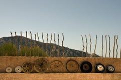De wielen van de evolutie. stock foto's