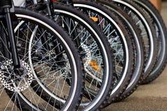 De wielen van de fiets Royalty-vrije Stock Afbeeldingen
