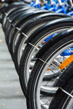 De wielen van de fiets Royalty-vrije Stock Fotografie