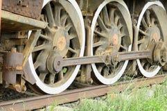 De wielen van de trein Royalty-vrije Stock Afbeelding