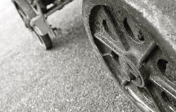 De wielen van het karretje Royalty-vrije Stock Foto's