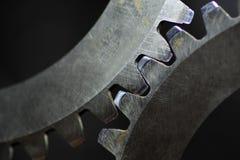 De wielen van het radertje Stock Fotografie
