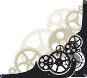 De wielen van het radertje royalty-vrije illustratie