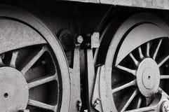 De wielen van het staal Royalty-vrije Stock Fotografie