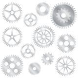 De wielen van het toestel. Stock Fotografie