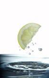 De wig van de citroen Royalty-vrije Stock Afbeelding