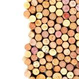 De wijn kurkt royalty-vrije stock foto