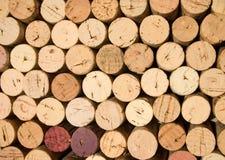 De wijn kurkt _3 stock foto's