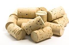 De wijn kurkt stock afbeelding