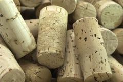 De wijn kurkt Royalty-vrije Stock Afbeelding