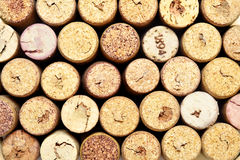 De wijn kurkt achtergrond Royalty-vrije Stock Afbeelding