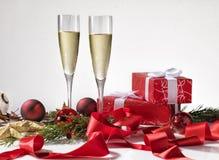 De wijn, ster, nieuwe decoratie, heldere vakantie, viert, festiv Stock Afbeeldingen