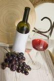 De wijn van Bourgondië Stock Foto's