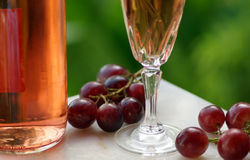 De Wijn van de rosé van alentejo royalty-vrije stock foto