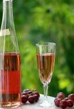 De Wijn van de rosé van alentejo stock afbeeldingen