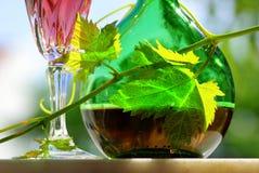 De wijn van de rosé Royalty-vrije Stock Afbeelding