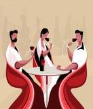 De wijn van de smaak Royalty-vrije Stock Afbeelding