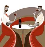 De wijn van de smaak Royalty-vrije Stock Foto's