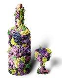 De wijn van de wijnstok Stock Fotografie