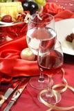 De wijn van glazen Royalty-vrije Stock Foto's