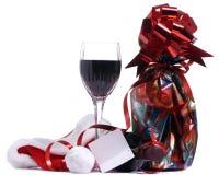 De Wijn van Kerstmis Stock Foto's