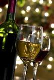 De Wijn van Kerstmis Stock Afbeeldingen