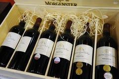 De wijnen 1999-2004 van Morgenster Stock Afbeeldingen