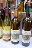 De Wijnen van Chateaulorane Stock Afbeelding
