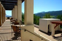 De Wijngaard van Stirling, Sonoma en Napa Vallei, Californië stock afbeeldingen