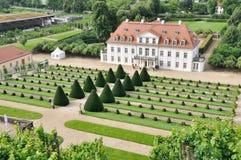 De wijngaarden van Radebeul Royalty-vrije Stock Afbeelding