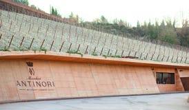 De wijnmakerij van de Chianti Classico van Antinori nel Royalty-vrije Stock Foto's