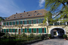 De Wijnmakerij van het palatinaat stock fotografie