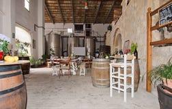 De wijnmakerij van Vinsnadal Stock Foto
