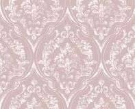 De wijnoogst bloeit gesierde patroonvector Victoriaanse Koninklijke textuur Decoratieve het ontwerpvector van de bloem Lichte kle royalty-vrije illustratie