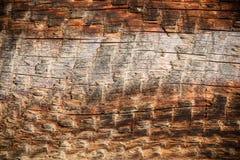 De wijnoogst doorstond houten plank Stock Foto's