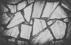 De wijnoogst Gebroken achtergrond van de betegelde vloerentextuur Stock Afbeelding