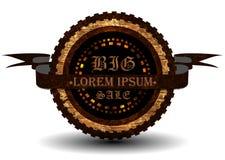 De wijnoogst Gestileerde Kwaliteit van de Premie. De inzameling van het etiket Stock Afbeeldingen