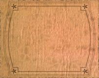 De wijnoogst isoleerde oude document textuur Stock Fotografie