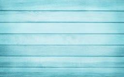 De wijnoogst schilderde houten muurachtergrond, textuur van blauwe pastelkleur met natuurlijke patronen voor het werk van de ontw stock fotografie