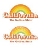 De wijnoogst van Californië royalty-vrije illustratie