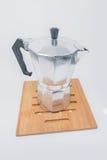 De wijnoogst van de koffiepot Royalty-vrije Stock Foto