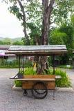 De wijnoogst van het snel voedselkarretje Royalty-vrije Stock Foto
