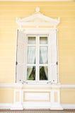 De wijnoogst van het venster Stock Foto's